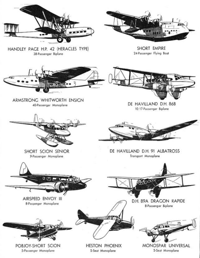 British Civil Aircraft - 1