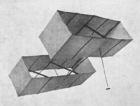 MODEL OF A HARGRAVE KITE