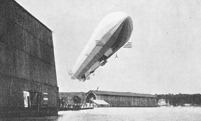 ZEPPELIN'S FOURTH AIRSHIP, the LZ4