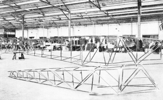 Fuselage structures for two Avro aeroplanes